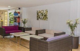 Лобби Hotel Coral Compostela Beach